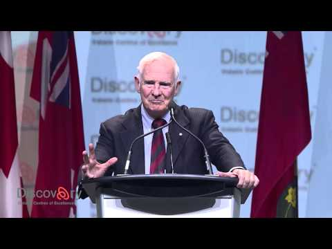 Discovery 14: Opening Remarks of Governor General of Canada David Johnston