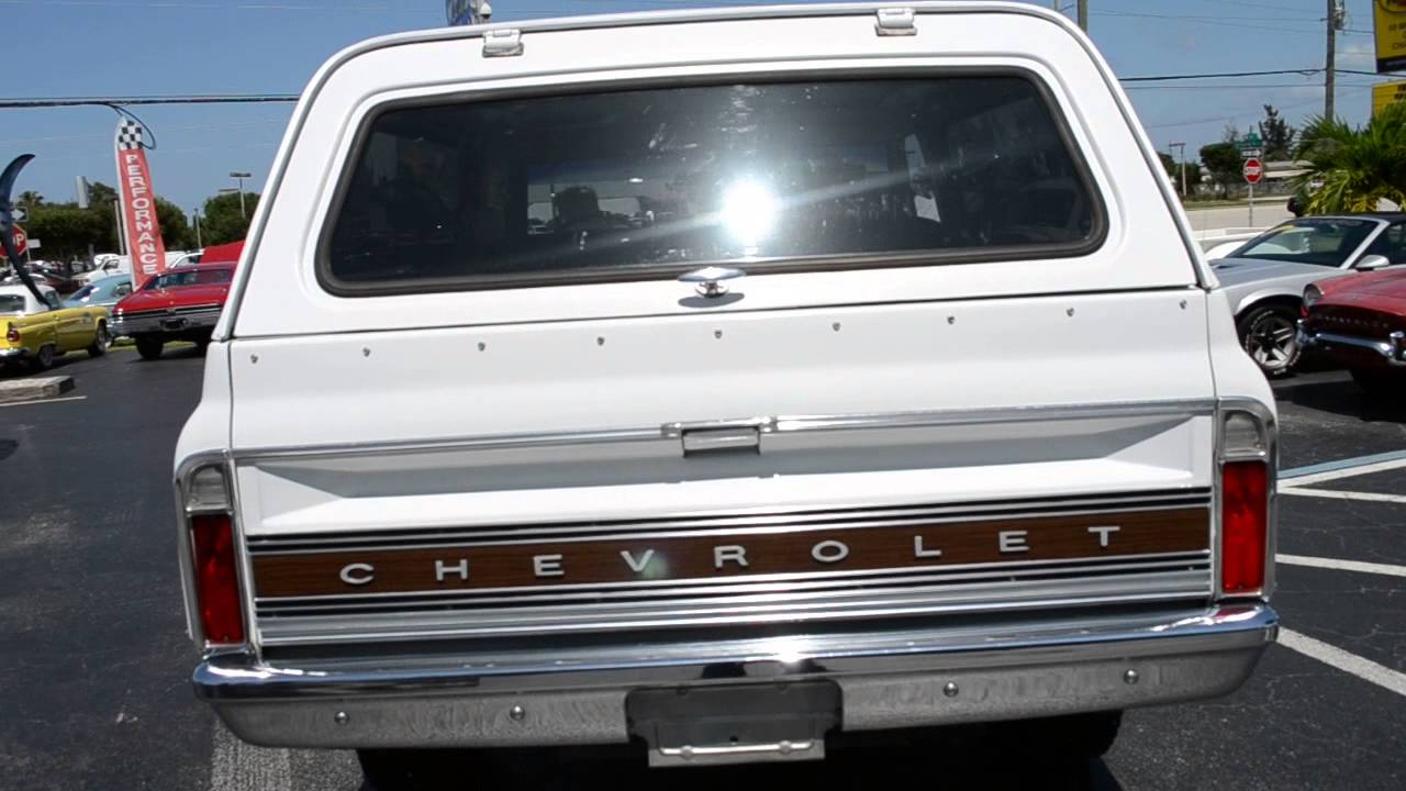 1971 Chevrolet K5 Blazer CST Classic cars for sale Stuart, FL 34997 ...