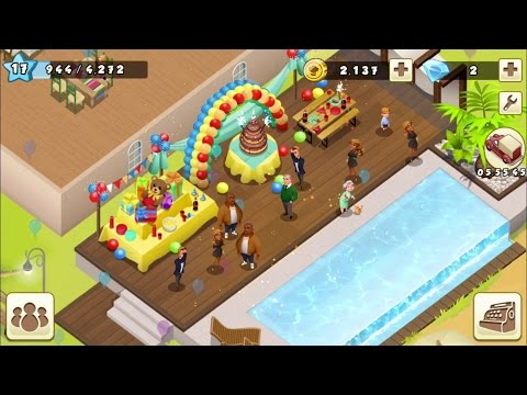 World Chef - #6 Cheers! Party people - Barman and Chillout - Gameplay