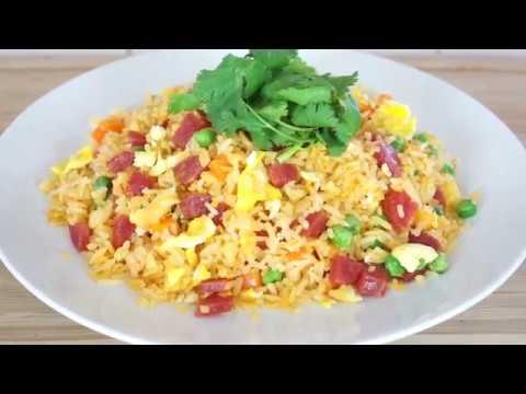 Vietnamese Fried Rice (Com Chien Duong Chau)