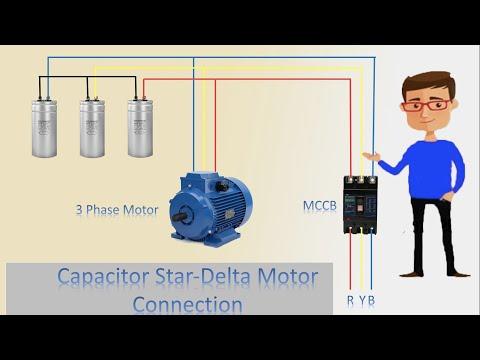 three phase capacitor wiring diagram  wiring diagrams 2004