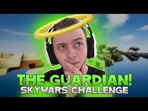 THE GUARDIAN CHALLENGE + BEST TEAMMATE?! ( Hypixel Skywars )