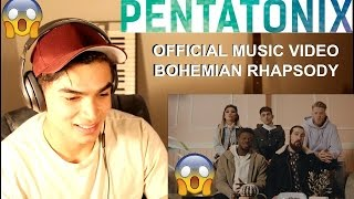 CRAZIEST SINGING IVE EVER SEEN- Pentatonix Bohemian Rhapsody (OFFICIAL MUSIC VIDEO)