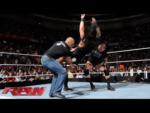 Evolution attacks The Shield: Raw, May 5, 2014