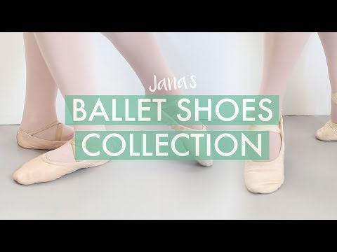 My Ballet Shoes Collection