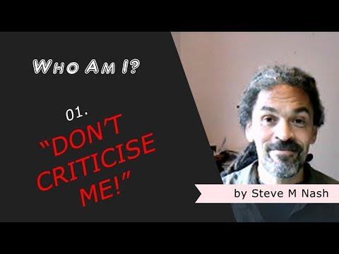 """""""I Don't Like Being Criticised"""" - Who Am I? #01 (4th Video)"""