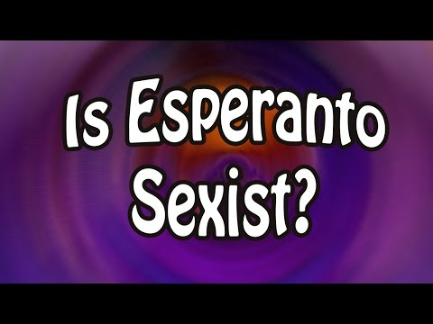 Is Esperanto Sexist?