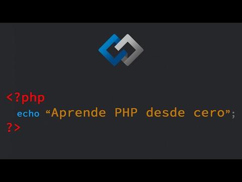 Curso: Aprende PHP desde cero HD (1/10)