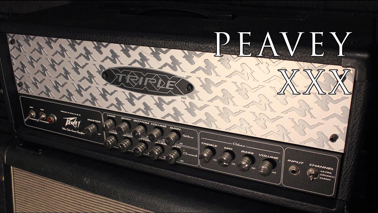 Peavey xxx sounds