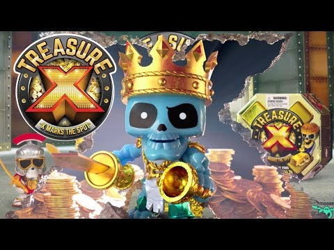 Treasure X - Dig in and search for REAL gold!