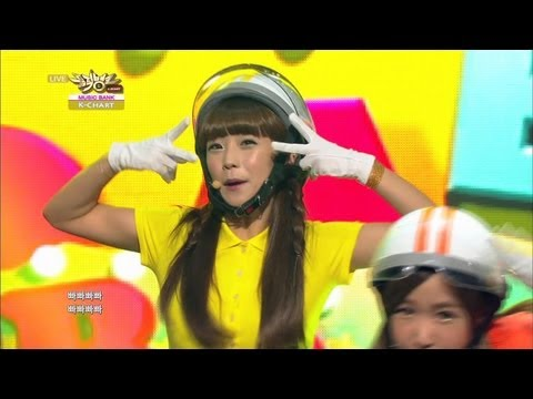 5th Week of August & Crayon Pop - BBA BBA BBA (2013.08.30) [Music Bank K-Chart]