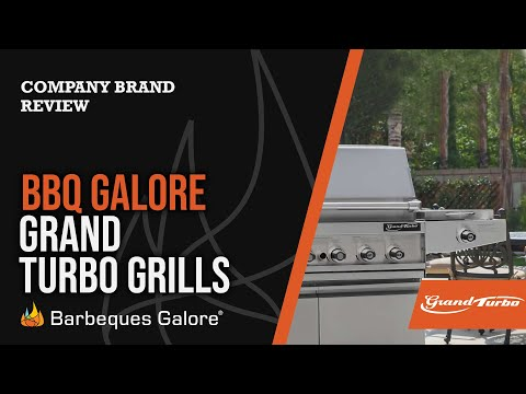 Product Review:  The Grand Turbo Line Of Grills From Barbeques Galore
