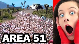 100,000 People Are Going To STORM AREA 51 (INSANE)