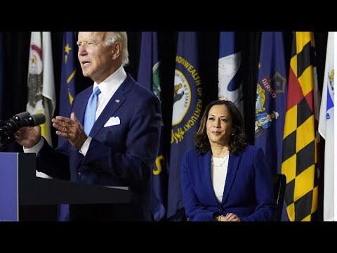 euronews (em português): Biden e Harris unidos para derrotar Trump