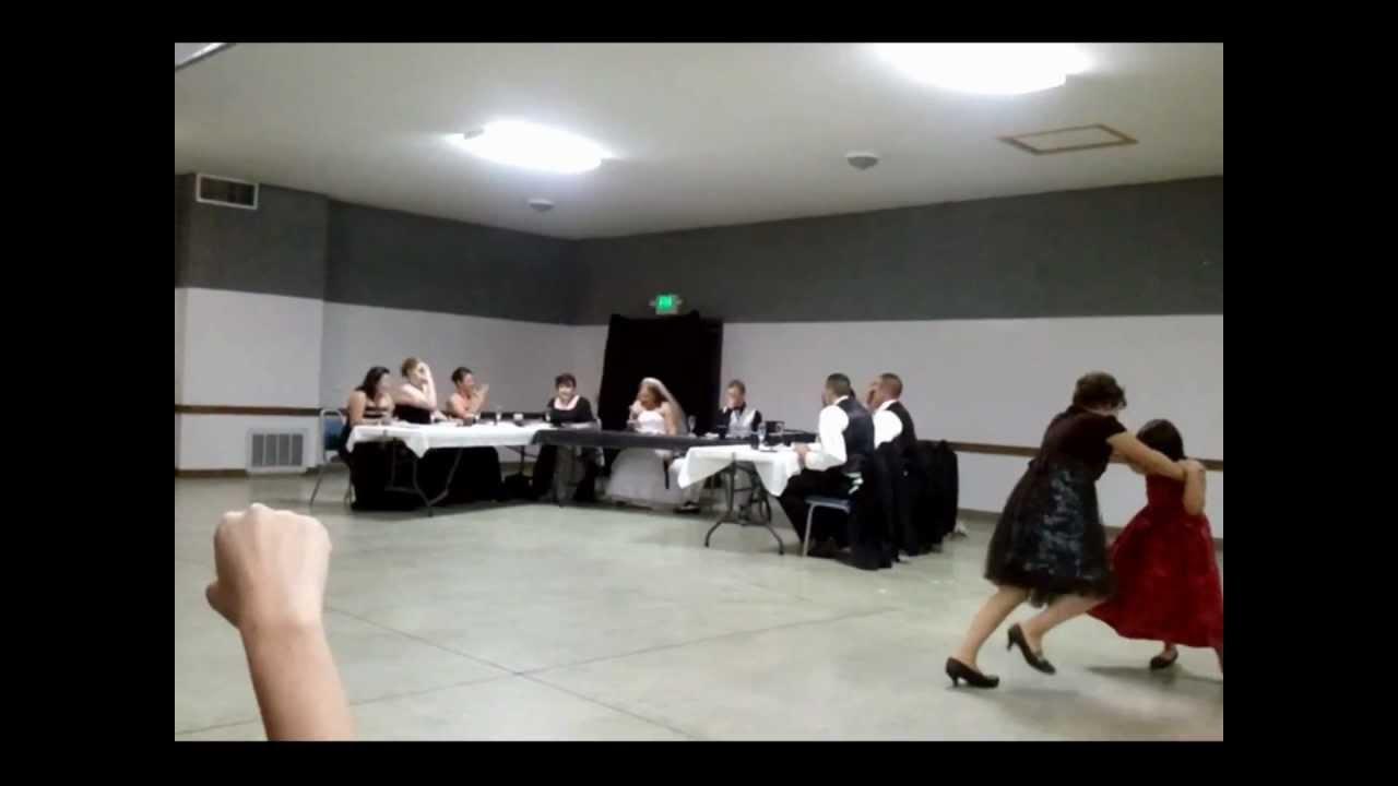 Beetlejuice day o dance banana boat song dj s wedding reception dance
