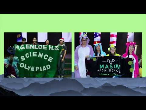 Science Olympiad National Tournament Closing Ceremony 2018