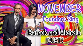 """November"" — Barack & Michelle Obama Duet Vs. Trump, by Founders Sing"