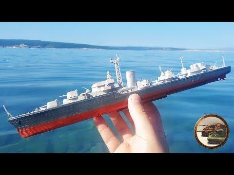ЧТО будет Если пустить Кораблик в Море - УТОНЕТ или Нет