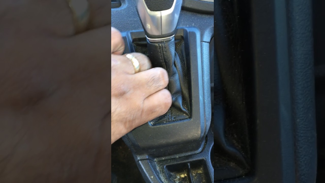 How to get a 2016 Ford Transit into neutral