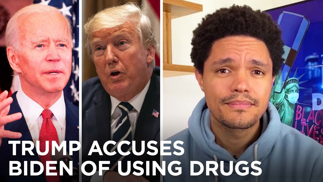 Trump Demands Pre-Debate Drug Tests & The Rock Endorses Biden | The Daily Social Distancing Show