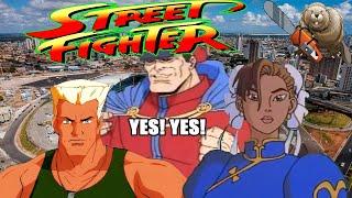 УЛИЧНЫЙ БОЕЦ / STREET FIGHTER. ANIMATED SERIES 1995 Обзор мультсериала