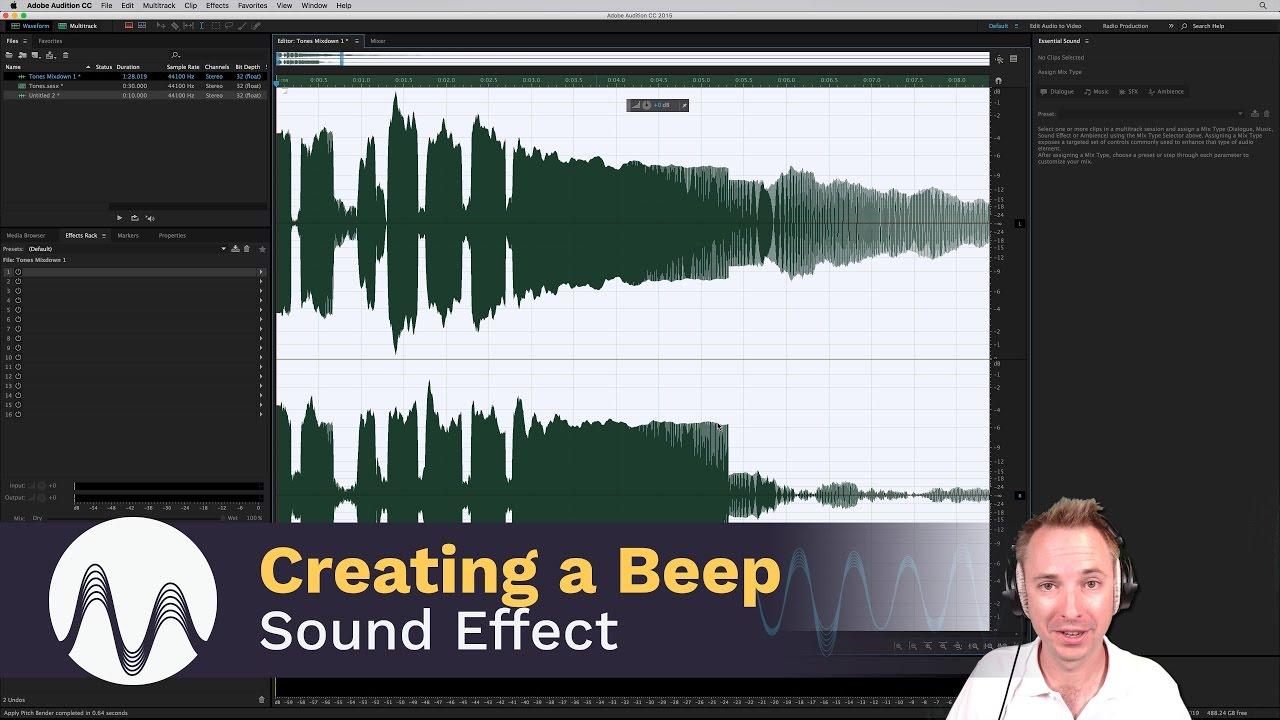 Beep Sound Effect By Generating Tones Youtube Diesel Generator Circuit Schematic Diagram