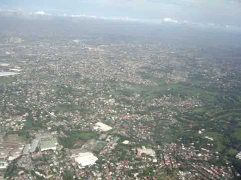 LANDING AT MANILA NINOY INTERNATIONAL PHILIPPINES KLM