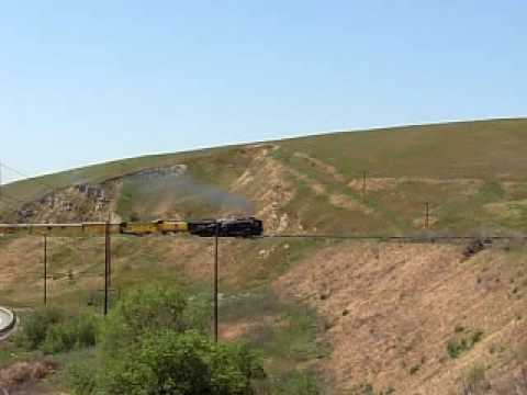 UP 844 in Altamont Pass