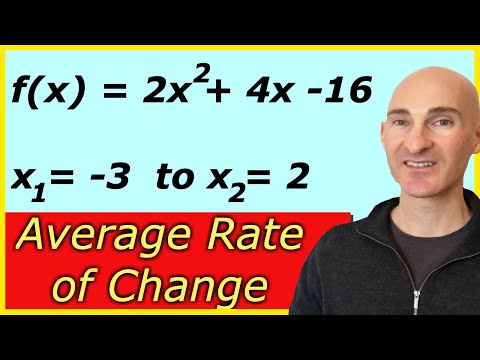 Find The Average Rate Of Change Of The Function From X1 To X2 (Precalculus)
