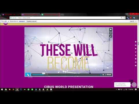 CIBUS ICO - A FRESH REVOLUTION RESHAPING FOOD ECOSYSTEM 2.0