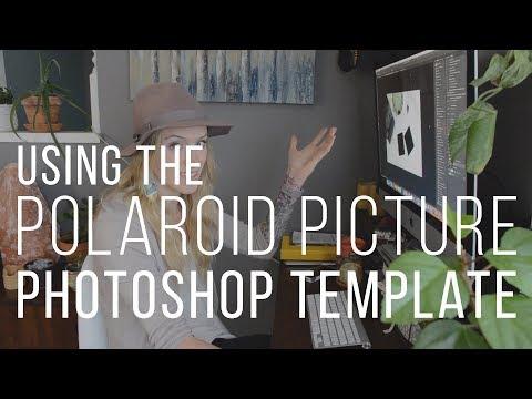 polaroid picture photoshop template facebook templates creative