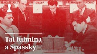 AJEDREZ | El mago Tal fulmina a Spassky | El Rincón de los Inmortales