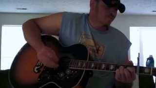 DON'T WATCH!!!  DON'T YOU THINK THIS OUTLAW BIT... WAYLON JENNINGS - ACOUSTIC COVER