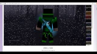 Youtube Minecraft Kapak ve Profil Resmi Yapma Programsız!!!