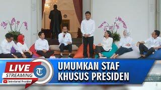 BREAKING NEWS - Presiden Jokowi Umumkan Kaum Milenials yang Jadi Staf Khusus Presiden