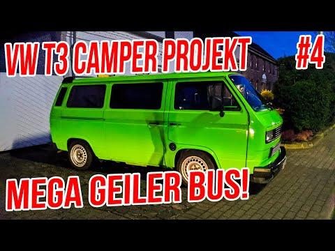 VW T3 Camper #4 - Sven's Subaru Ej22 T3 Umbau! #NurFastGestorben xD