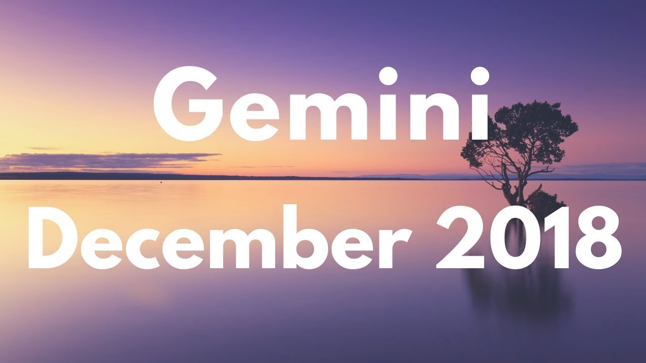 gemini december 1 2019 weekly horoscope