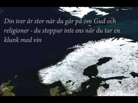 Mysteriet Deg - Lisa Nilsson & Bjørn Eidsvåg (with lyrics)