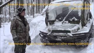 Зимний видео обзор снегоболотохода