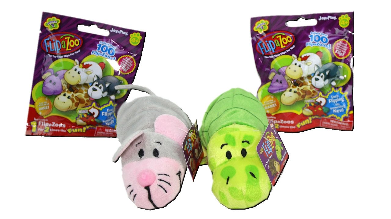 Flip A Zoo Series 1 Collectible Figures Blind Bags And