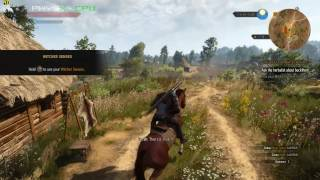 The Witcher 3- PC gameplay 1080p (GTX 965M) (Alienware 15)