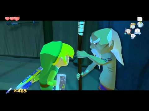 Zelda Windwaker HD Heart Piece 11 Orca Challenge