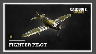 Call of Duty WW2 - Fighter Pilot Gameplay
