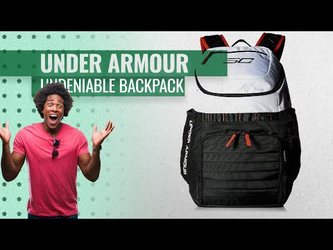 0ebc73fb45 Hot New Under Armour SC30 Undeniable Backpack 2019 - Choose Your Colors  Fashion Trends Guide