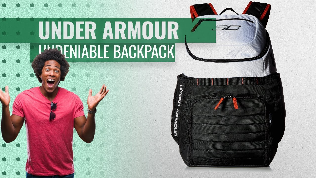 Hot New Under Armour SC30 Undeniable Backpack 2019 - Choose Your ... a9b37b3e3c086