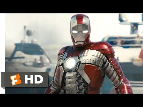 Iron Man 2 (2010) - Suitcase Suit Scene (4/5)   Movieclips
