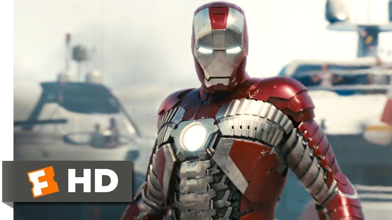 Iron Man 2: Iron Man 2 (2010) - Suitcase Suit Scene (4/5)