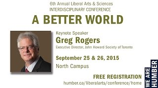 6th Annual Liberal Arts & Sciences Interdisciplinary Conference Keynote Speech