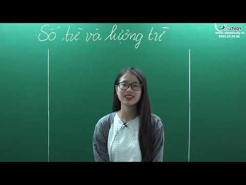 [ Ngữ Văn 6 ] Số Từ Và Lượng Từ - Cô Thiên Hương - Liên Hệ: 0932.39.39.56