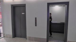 2x Mitshubishi Traction elevators @ Gunerius